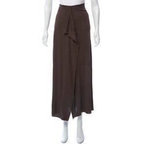 Rozae Nichols Brown Maxi Skirt